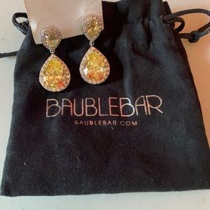 Baublebar teardrop earrings